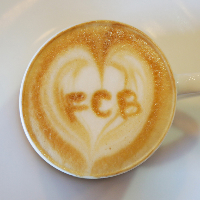 FCB Toronto has a great space and Coffee Bar!